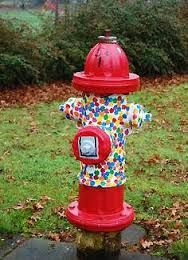 Image result for painted fire hydrants