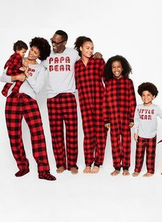 4bfb0446d Shop family pajamas at JCPenney and save. Celebrate Christmas in festive  matching pajamas like elf costumes or Santa suits.