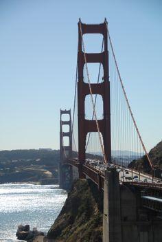 San Francisco, CA - Golden Gate Bridge (from Sausalito side) - 2012 marks 75th anniversary.