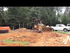 unique outdoor concepts is excavating a family style free-form, sport swimming pool. Our sports pool customarily has 5 to 6 foot depths the middle with either end being three to four feet...