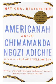 12 Books Both You and Your Mom Will Love | Adichie's love story centers around the self-assured Ifemelu and the thoughtful Obinze, two high school sweethearts. Readers of any generation will be able to identify with Ifemelu's dating pitfalls, her political awakening, and her ongoing search for a sense of self while caught between two different worlds. #realsimple #bookrecomendations #thingstodo #bookstoread Book Club Books, Book Lists, Good Books, Books To Read, Book Art, Chimamanda Ngozi Adichie, Books For Moms, 12th Book, Library Programs