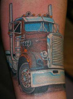 25 Best trucker tattoos images | Trucker tattoo, Body ...