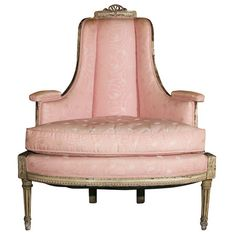 Antiques19th Century chair - great for a ladies closet - dressing area or a sweet girls room