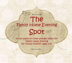 Sites For Family Home Evening Lessons, Ideas & Games | Live Craft Eat