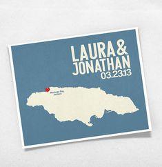 Jamaican Wedding Save the Dates!