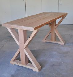 table before stain