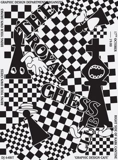 The Royal Chess Club #1 – POSTER – 2013 - Marinus Schepen — Graphic Design