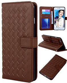 "iPhone 6s Wallet Case, Crosspace® Textured Flip PU Leather Magnetic Weave Handbag Slim Fit with Card Holder Detachable Wrist Strap Cover for Apple Iphone 6/6s 4.7""-for Christmas Day Gifts (Coffee) - http://leather-handbags-shop.com/iphone-6s-wallet-case-crosspace-textured-flip-pu-leather-magnetic-weave-handbag-slim-fit-with-card-holder-detachable-wrist-strap-cover-for-apple-iphone-66s-4-7-for-christmas-day-gifts-coffee/"