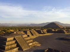 size: Photographic Print: Pyramid of the Sun at Teotihuacan, Valle De Mexico, Mexico, North America by Christian Kober : Entertainment Visiting Mexico City, Visit Mexico, North America, Latin America, Central America, Mexico Travel, Plan Your Trip, Photo Galleries, National Parks