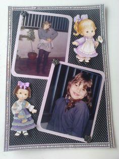 Álbum em Tecido Fábia Infância