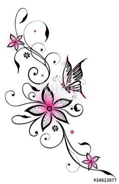 Die 1262 Besten Bilder Von Tattoo Blumen Flower In 2019 Body Art
