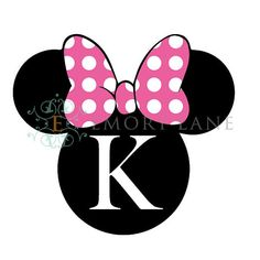 Mouse Printable Personalizd With a Letter Iron by EmoryLaneStudios, $4.50