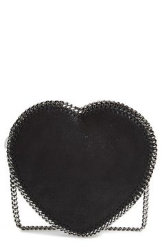 Stella McCartney 'Falabella Heart' Crossbody Bag