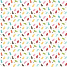 {everyday} popsicles fabric by misstiina on Spoonflower - custom fabric