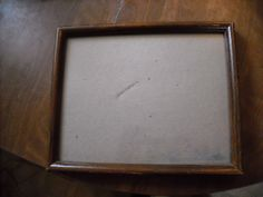 Wood Photo Frame ~ for sale at Wenzel Thrifty Nickel eCRATER store