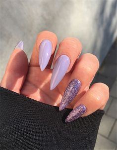 Best Acrylic Stiletto Nails Designs Trend In Fall; - gel nail designs for fall Acrylic Nails Stiletto, Almond Acrylic Nails, Summer Acrylic Nails, Best Acrylic Nails, Acrylic Nail Designs, Nail Art Designs, Gel Nails, Nails Design, Coffin Nails