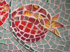 pomegranate mosaic - beautiful