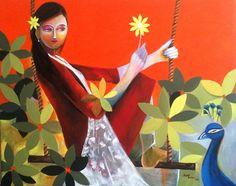 Artist: Aarti tushar Yellow dream..series  aartipent@gmail.com