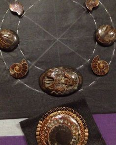 Наконец-то смогла подобрать камни для колье трансформера) #процесс #вышивкабисером #колье #кольетрансформер #ammonite #fossil #gemstone #simbircite #аммонитоваяжеода #жеода #симбирцит #натуральныекамни #workshop #necklace #transformers #симбирцитоваяжеода #жеодасимбирцита
