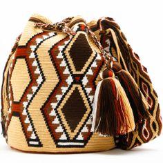 Cabo Mochila Bag Tapestry Bag, Tapestry Crochet, Love Crochet, Knit Crochet, Crochet Hats, Crochet Purses, Crochet Handbags, Crochet Accessories, Bag Accessories