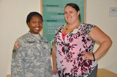 Our @Marshall_Center #team working @EUCOM Security Seminar July 20: U.S. Army Sgt. Amanda Moncada and @MicheleBean