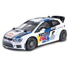 Nikko - Volkswagen Polo Red Bull WRC, coche con radiocontrol (160235A)