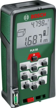 PLR 50, Digital measuring tools, Laser measures, Precise, versatile and intelligent