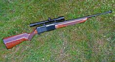 This is a Browning 30-06. One of my dream guns is one of these with lever action instead of the bolt.