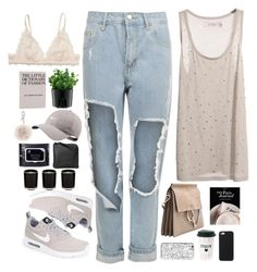 """""""Untitled #2755"""" by wtf-towear ❤ liked on Polyvore featuring WearAll, Reiss, INDIE HAIR, Monki, Bodum, NIKE, Fendi and Xenab Lone"""