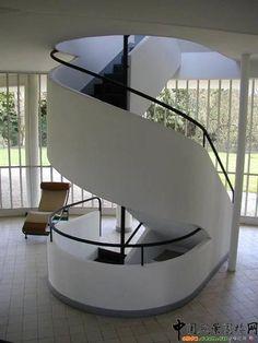 Villa Savoye - Le corbusier-Autocad Drawings download
