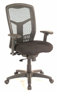 High back office chair - Pin it :-) Follow us     :-)) AzOfficechairs.com is your Office chair Gallery ;) CLICK IMAGE TWICE for Pricing and Info :) SEE A LARGER SELECTION of  high back  office chair at  http://azofficechairs.com/?s=high+back+office+chair -  office, office chair, home office chair  - EQA Home CoolMesh Synchro-Tilt High-Back Ergonomic Task Chair with Arms « AZofficechairs.com