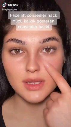 Face Contouring, Contour Makeup, Skin Makeup, Makeup Tutorial Eyeliner, Makeup Looks Tutorial, Face Makeup Tips, Makeup Goals, Maquillage On Fleek, Makeup Order
