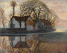 Piet Mondrian (1872-1944), Farm at Duivendrecht, 1916, The Hague Museum
