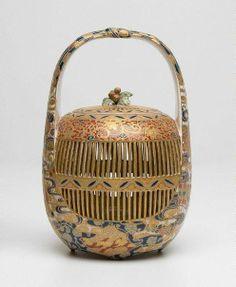 SATSUMA WARE | satsuma yaki | Cricket cage, (circa 1900) by Satsuma ware, HODOTA ...