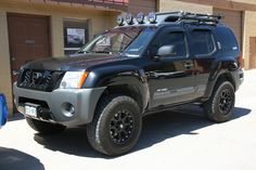 Nissan Xterra... to take me to the wilderness