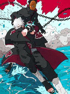 Naruto Kakashi, Naruto Anime, Anime Akatsuki, Naruto Shippuden Anime, Otaku Anime, Manga, Izuna Uchiha, Naruto Drawings, Cool Anime Pictures