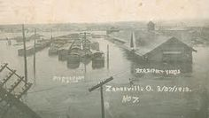 Picture of the 1913 flood