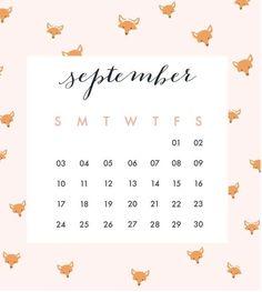 Cute September 2018 Calendar Events Download 2018 Calendar Template, Excel Calendar, Printable Blank Calendar, Calendar 2018, Kids Calendar, Event Calendar, 2018 Planner, Calendar Wallpaper, Free Printables