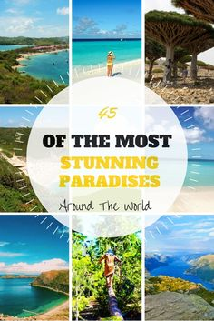 45 of the most stunning paradises around the world! - Anita Hendrieka