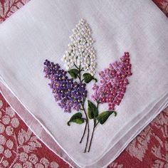 Embroidery Joining Stitches plus Embroidery Stitches Pictures what Handkerchief Embroidery Near Me, Embroidery Stitches In Tamil Silk Ribbon Embroidery, Crewel Embroidery, Cross Stitch Embroidery, Embroidery Patterns, Machine Embroidery, Handkerchief Embroidery, Diy Broderie, Brazilian Embroidery, Embroidered Flowers