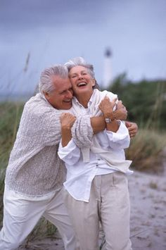 Old people need hugs too!