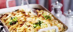 Broileri-savujuustokiusaus Mashed Potatoes, Macaroni And Cheese, Chicken, Meat, Baking, Ethnic Recipes, Food, Capsule Wardrobe, Whipped Potatoes