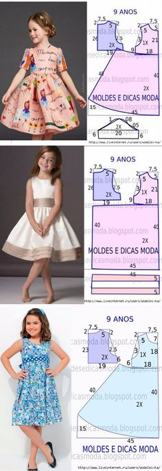 For children:separator:For children Girls Dresses Sewing, Frocks For Girls, Dresses Kids Girl, Sewing Clothes, Kids Outfits, Sewing Coat, Baby Girl Dress Patterns, Dress Sewing Patterns, Skirt Patterns