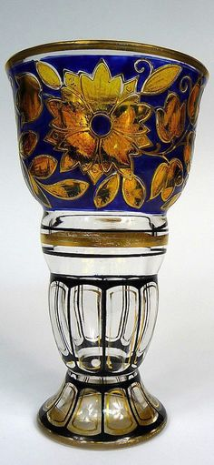 Art Nouveau Vase Pautsch Haida um 1900
