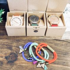 All colors of @youwoodorg watches back in stock! Now offering @youwoodorg bracelets too!!! Come see us today! 10-6 by rosewoodhomemarket
