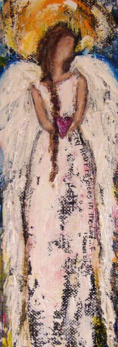 Angel Painting... may try this