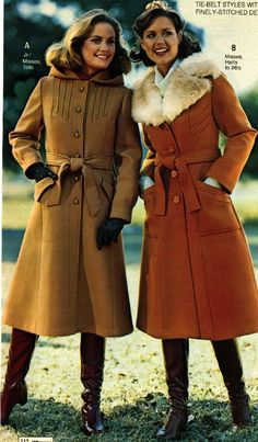 penney, 1977 vintage ad's & poster's vintage fashion, f 1977 Fashion, 60s And 70s Fashion, Seventies Fashion, Teen Fashion, Retro Fashion, Winter Fashion, Vintage Fashion, 80s Womens Fashion, Fashion Tips