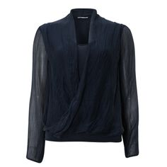 Blue Chiffon Top for £19.99 #fabfind