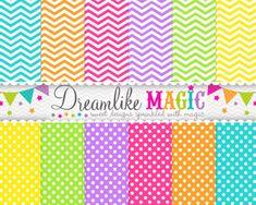 Free Digital Paper by Dreamlike Magic Designs