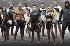 Back in December UFC announced a landmark deal unlike any they'd made deal before. For six years, Reebok would be the exclusive outfitter and apparel provider for the organization. Reebok, Combat Sport, Ultimate Fighting Championship, Mixed Martial Arts, Ufc, Sport Outfits, Fitness Fashion, Crossfit, Thinking Of You